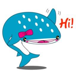Giant Whale Shark Sticker