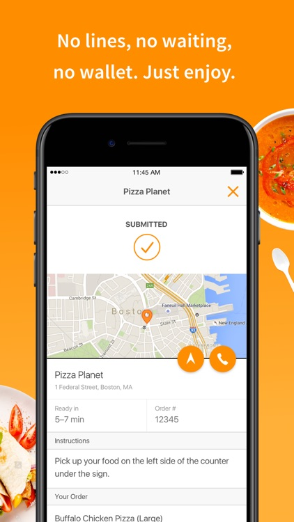 LevelUp: Order food ahead screenshot-4