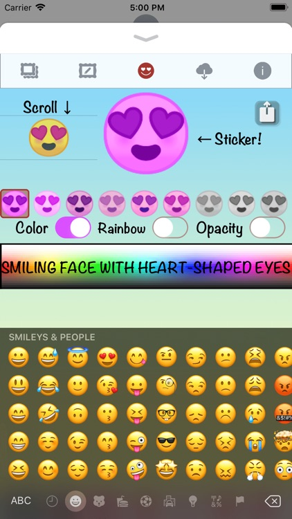 I Love You • Stickers & Emoji screenshot-8