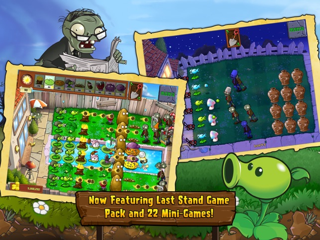 Plants vs  Zombies™ HD on the App Store