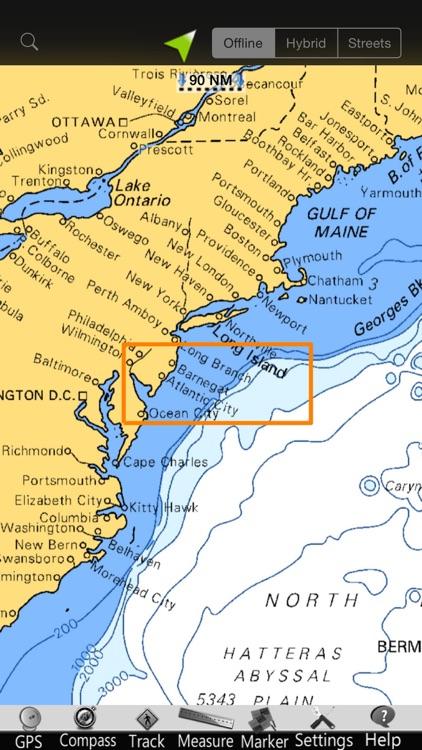 Delaware GPS Nautical Charts screenshot-4
