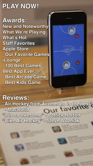 Air Hockeyのおすすめ画像1