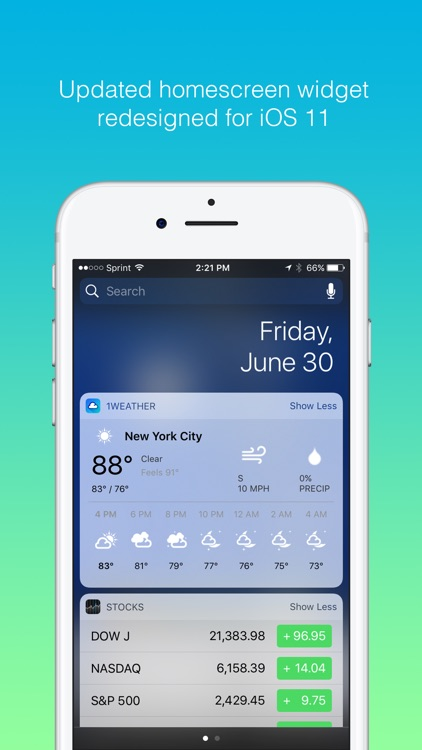 1Weather: Forecast and Radar screenshot-4