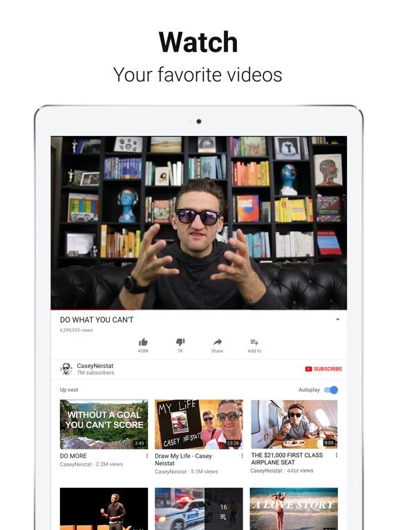 Screenshot #1 for YouTube: Watch, Listen, Stream