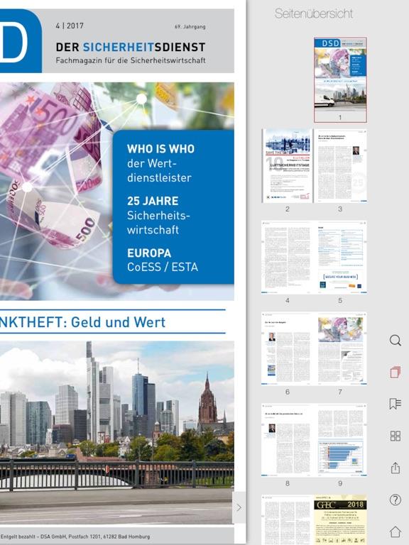 iPad Image of DSD Der Sicherheitsdienst