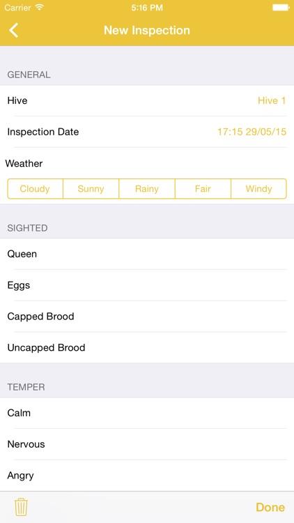 Bee Appy - Hive Management screenshot-3