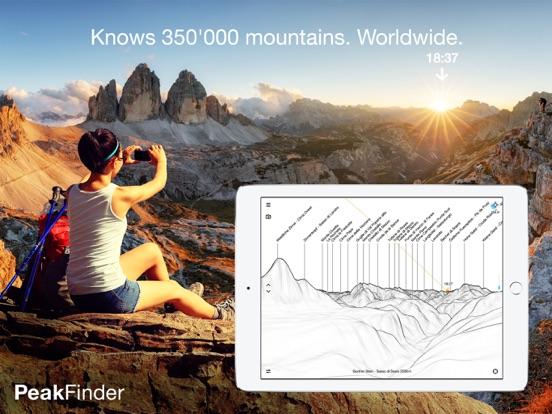 PeakFinder AR Скриншоты8