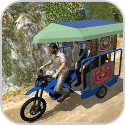 New Driving Tuk Tuk Hill