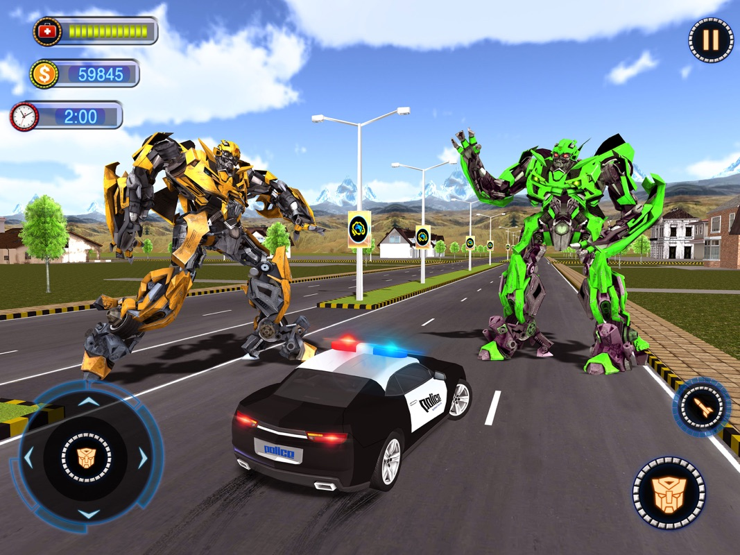 Fighting Robot Car Chase 2018 - Online Game Hack and Cheat | Gehack com