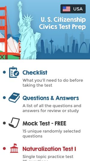 US Citizenship Test Questions on the App Store