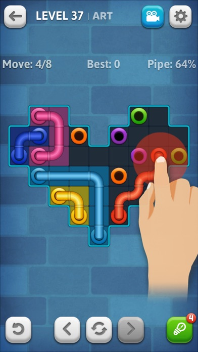 Line Puzzle: Pipe Art screenshot 2