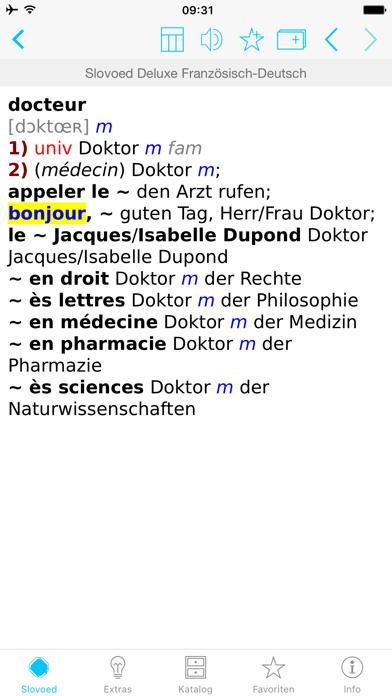 Wörterbuch Französisch Deutschのおすすめ画像3