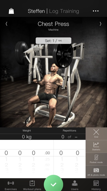 Gymnotize Workout Routines Gym screenshot-0