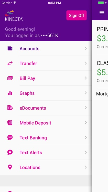 Kinecta Mobile Banking screenshot-2