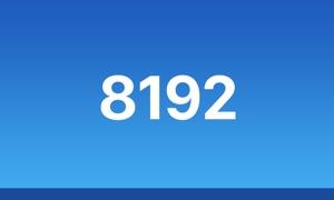 8192 - Puzzle Challenge