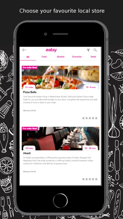 eatsy UK - local food delivery