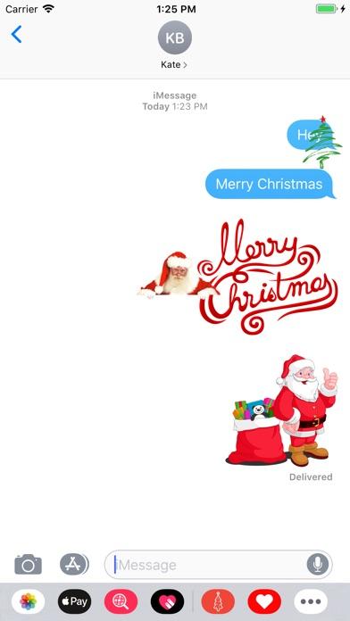 Best Christmas Stickers 2019 screenshot 1