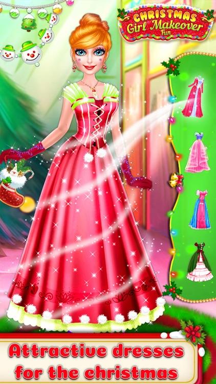 Christmas Girls Makeover Fun screenshot-3
