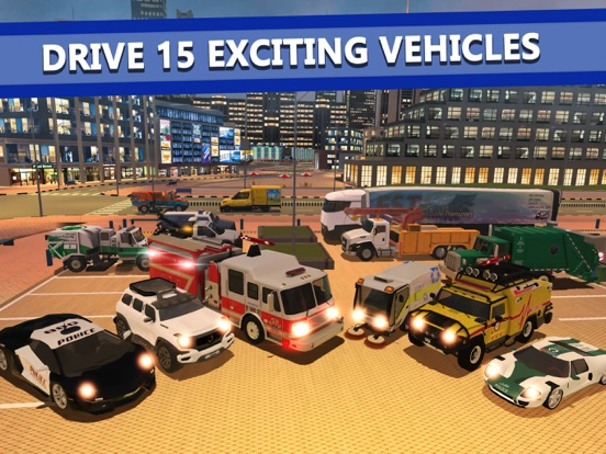 Emergency Driver: City Hero для iPad