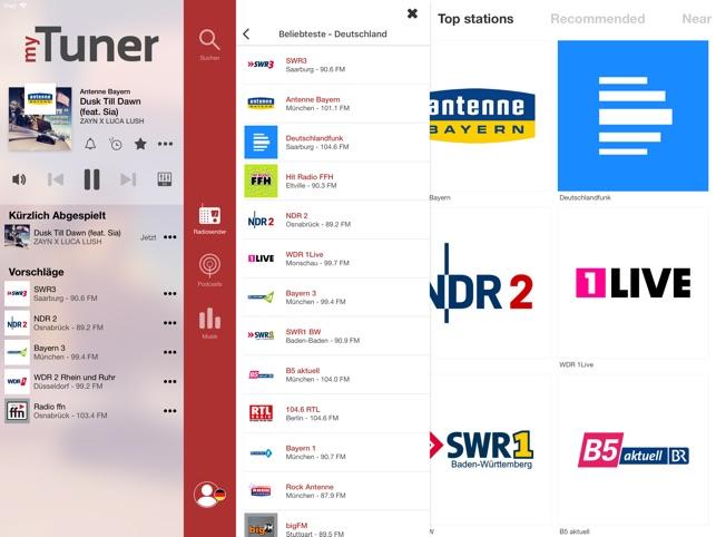 myTuner Radio Pro Screenshot