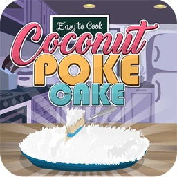 coconut poke cake cooking game