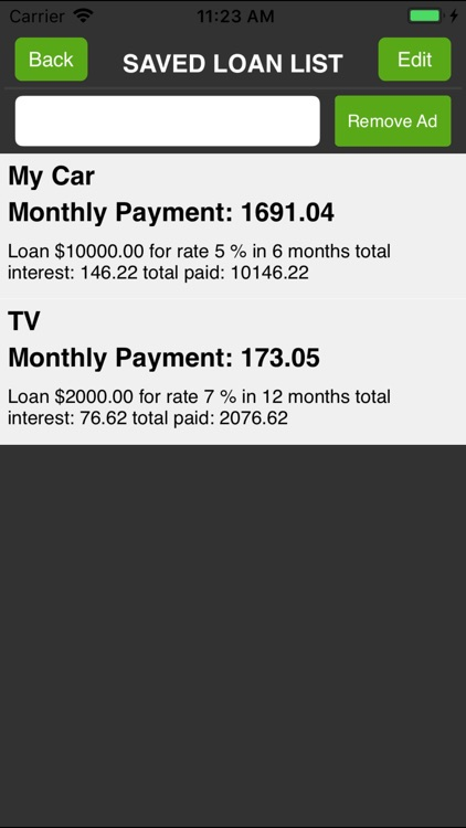 $ Loan Calculator screenshot-3