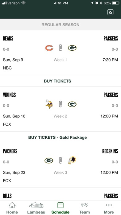 Official Green Bay Packers iPhone