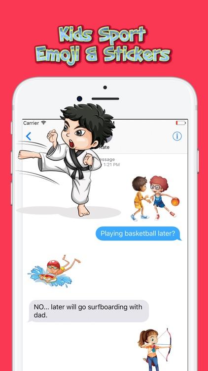 Kids Sport Emoji & Stickers