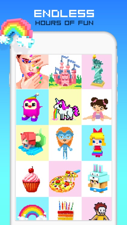 RAINBOW Color by Number screenshot-4