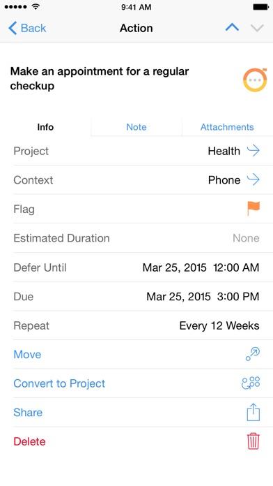 OmniFocus 2 app image
