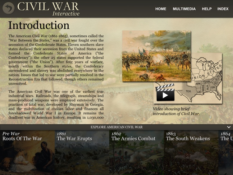 American Civil War Interactive