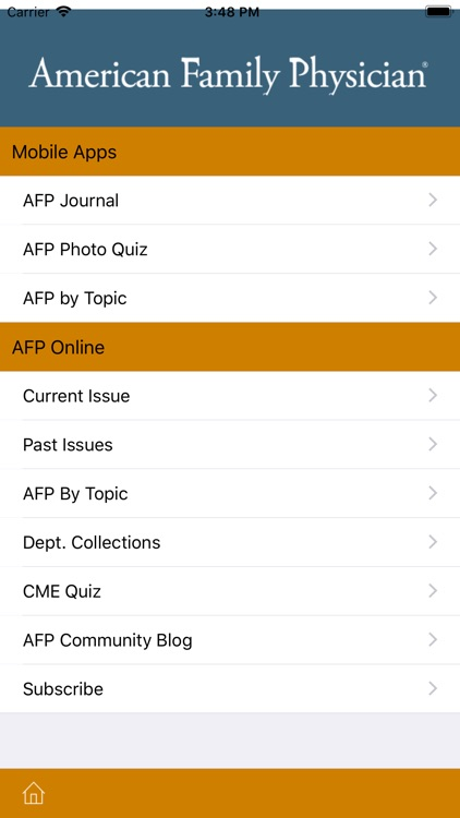 AAFP screenshot-3