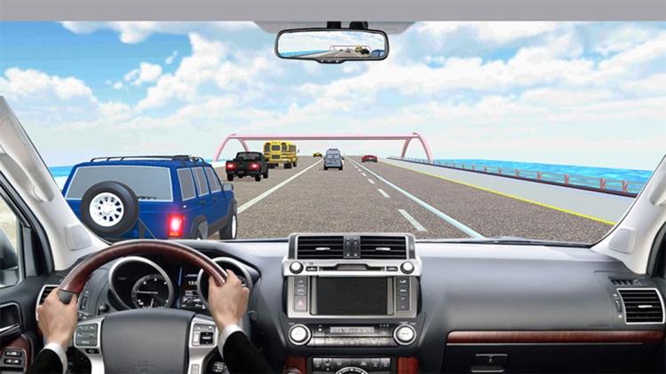 Highway Prado Racing Game! screenshot-3