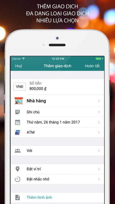 Money Helper -Quản Lý Chi Tiêu screenshot four