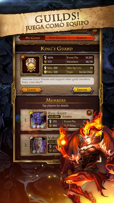 Blades of Battle RPGCaptura de pantalla de1