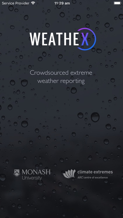 WeatheX - Weather Reporting