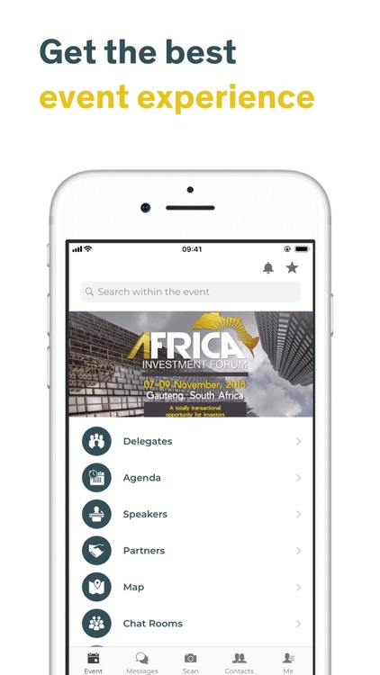 Africa Investment Forum 2018 by Swapcard
