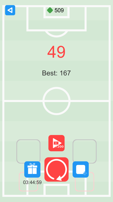 Falling Squares the Game screenshot three