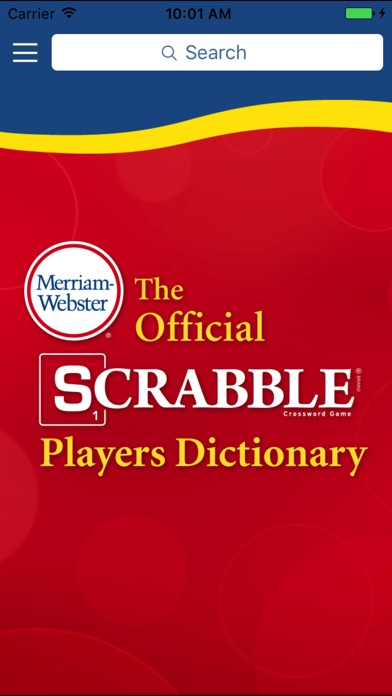 Screenshot for SCRABBLE Dictionary in United States App Store