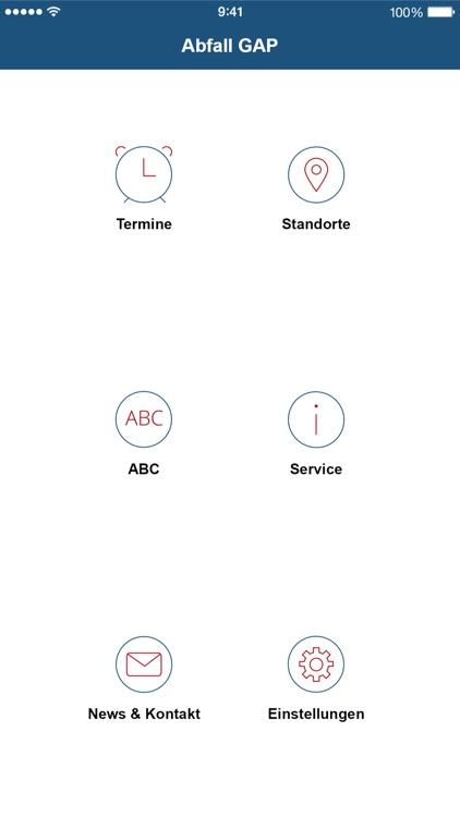 Abfall App GAP