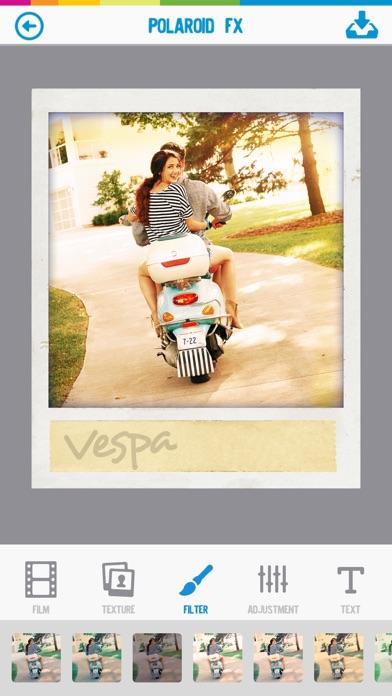 ポラロイド Polaroid Fx screenshot1