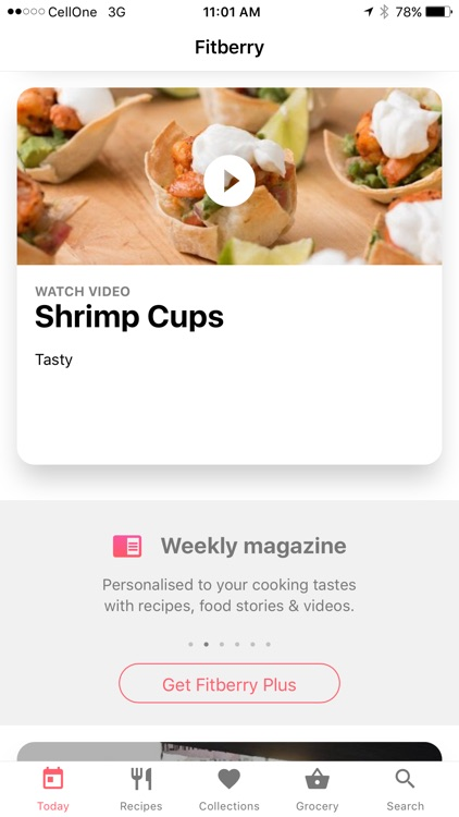 Fitberry - Healthy Diet Recipe screenshot-4