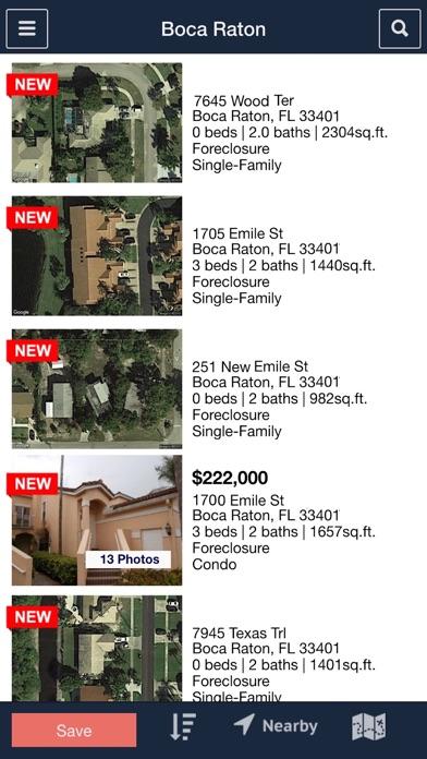 Foreclosure.com Real Estate Screenshot