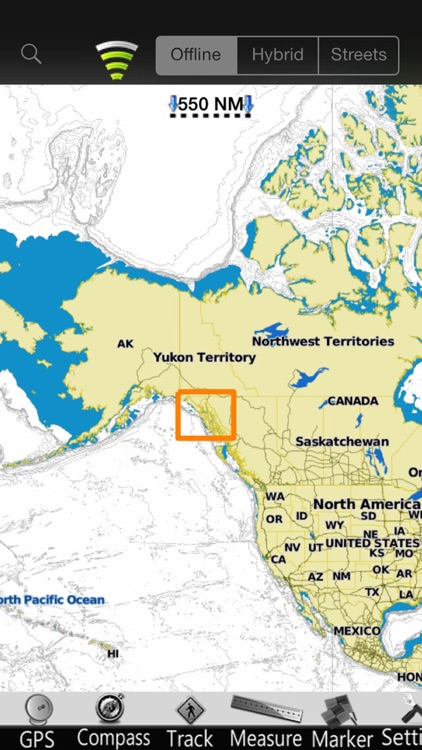 Alaska SE GPS Nautical Charts screenshot-4