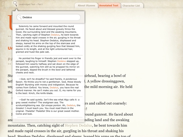 Joyce's Ulysses: A Guide screenshot-3