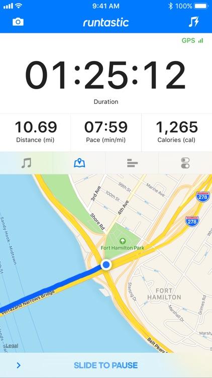 Runtastic Running App screenshot-0