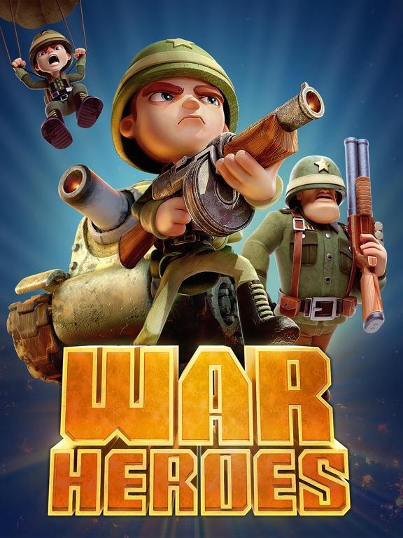 War Heroes Strategy Card Games screenshot 6