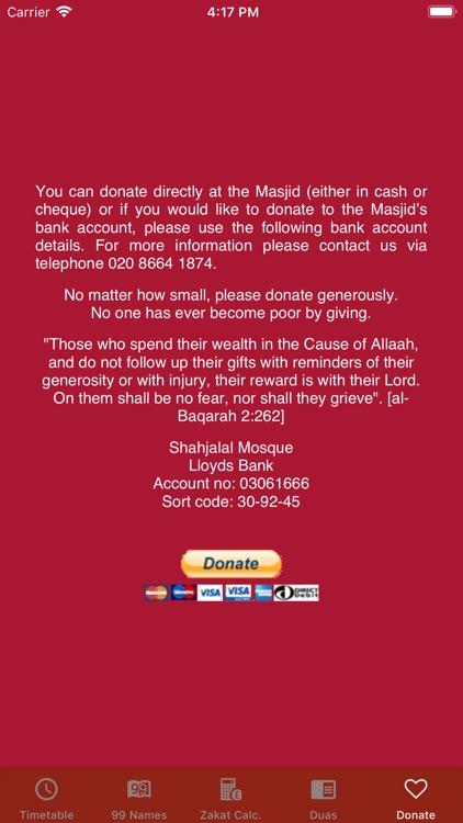 Prayer Time Shahjalal Masjid screenshot-4