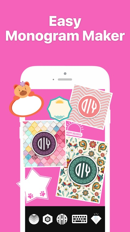 Monogram It - Wallpaper Maker screenshot-2