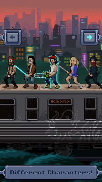 Zombie Train Survival Fight screenshot-3